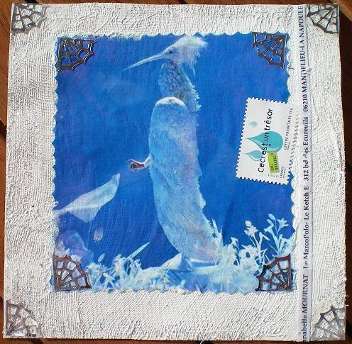 88~Oiseau blanc pour Anna