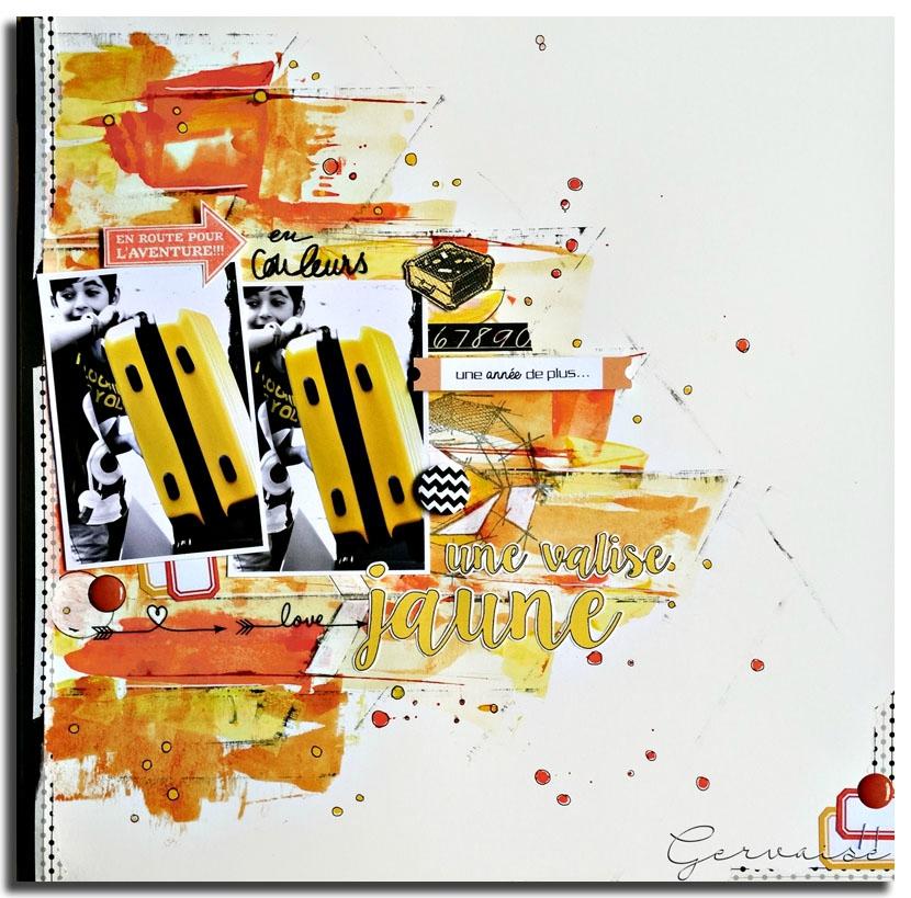 La valise jaune