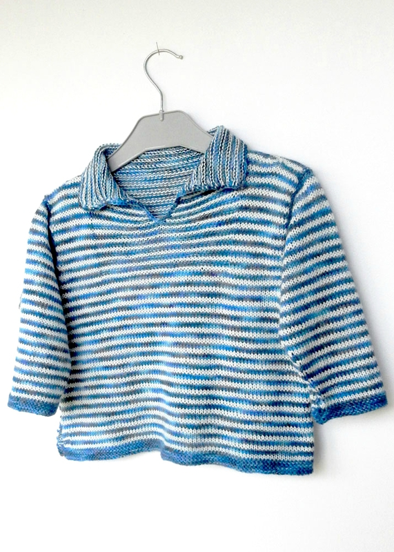 Striped Sailor Top de Debbie Bliss - Anisbee