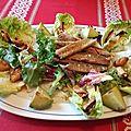 Salade marine de filets de maquereaux aux moules