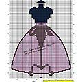 Mannequin robe mauve copie