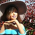 La capeline en boutis de Geneviève