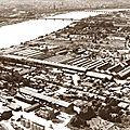 Gros plan sur la zone industrielle bastido-floiracaise du siècle dernier