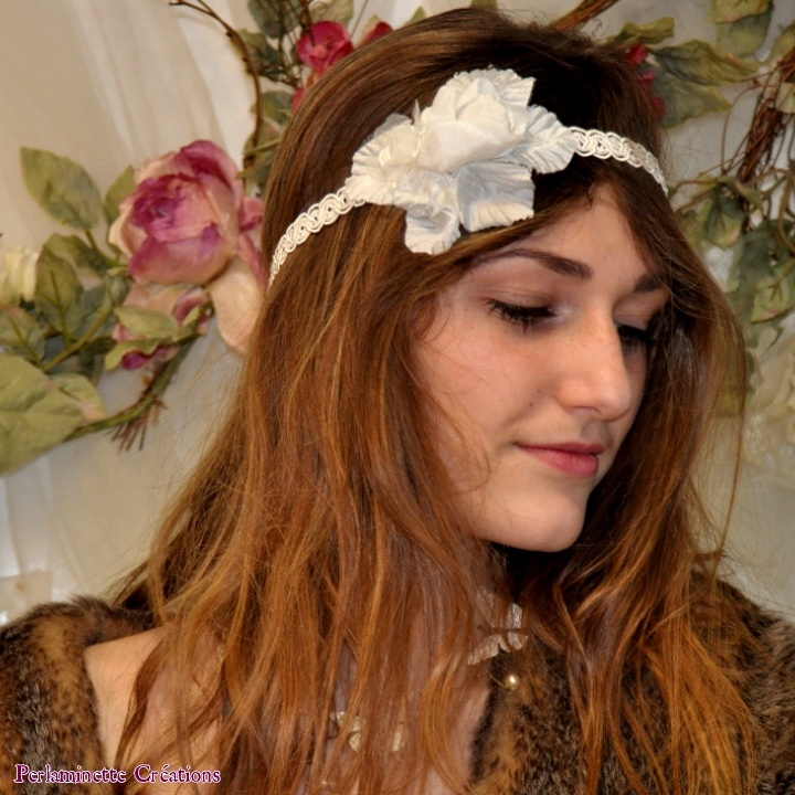 Headbands serre tête fleur