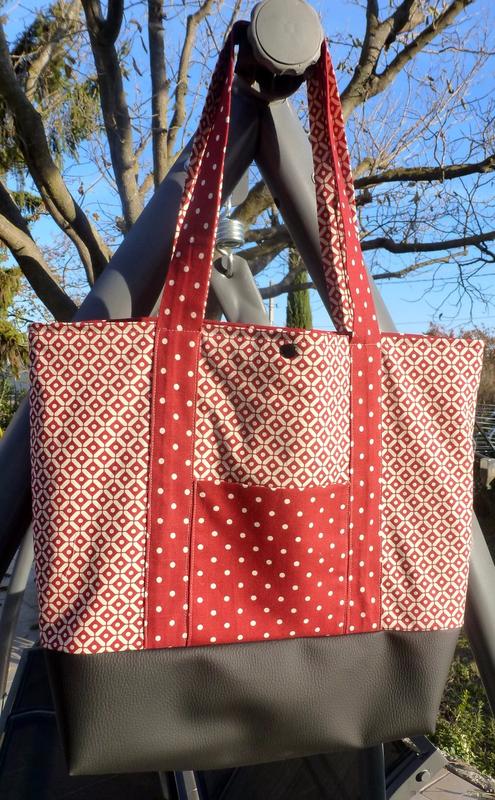 sac caabas rouge