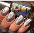 Color club: harp on it, j'ai [encore] eu un arc en ciel sur les ongles