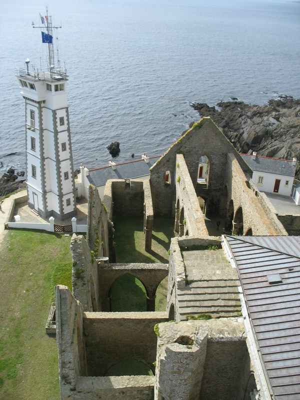 Pointe Saint-Mathieu, vue du phare