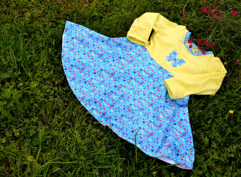 Bluebell dress jaune-1