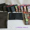 Porte monnaie et porte chequier/cartes...