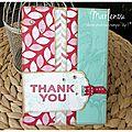 Carte - thank you
