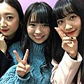 Photos & vidéos twitter : ( [account @ruka_hashimoto] - |2017.11.23 - 15h59| hikari tashiro, yuno ohara & ruka hashimoto )