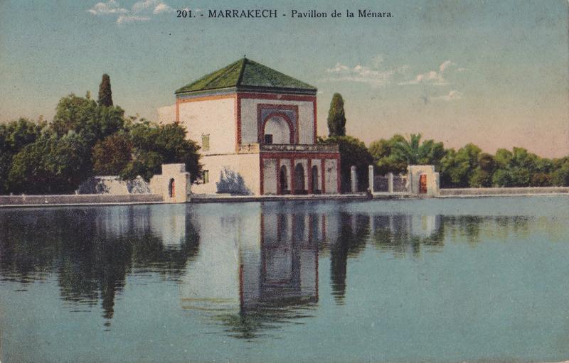 Bassin-de-la-Menara-par-Felix-vers-1936