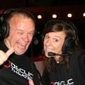 Mélanie Lemoine & JiBé ont commenté la soirée pour TV FIL 78