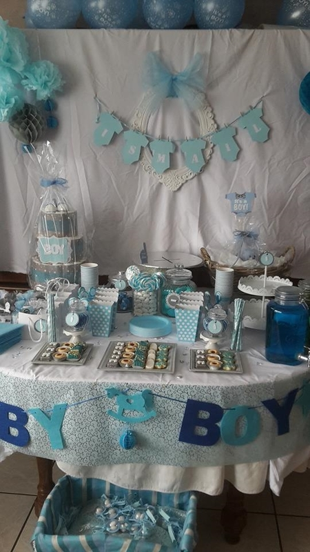 baby shower candy bar face