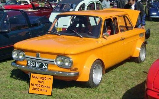 NSU 1200 TT Pancarte