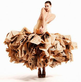 Gary Harvey-NewspaperDress