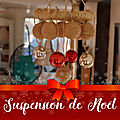 Suspension de noël