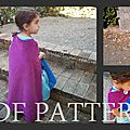 Patron et tutoriel cape de la reine des neiges / diy frozen cape pattern