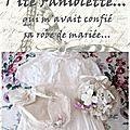 Faniolette se marie!