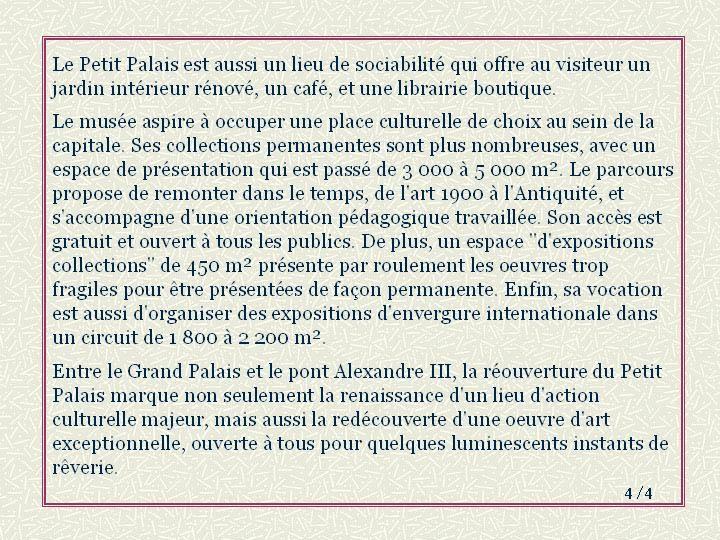 00 - Histoire du Petit Palais - 4