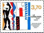 Timbre Le Corbusier 1987