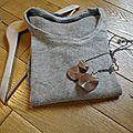 Un tee-shirt ellébore pour déstocker... en [janvier]