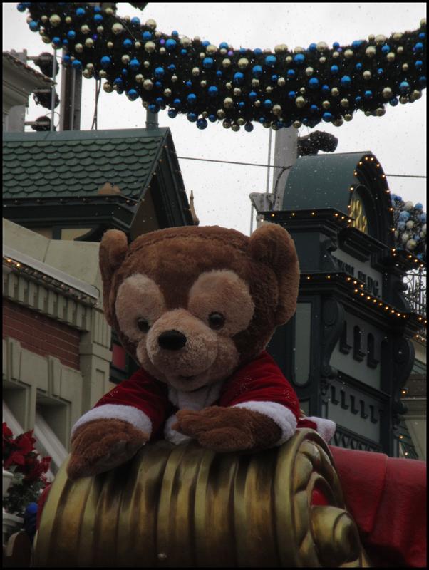 Parade de Noël premier passage dimanche (1)