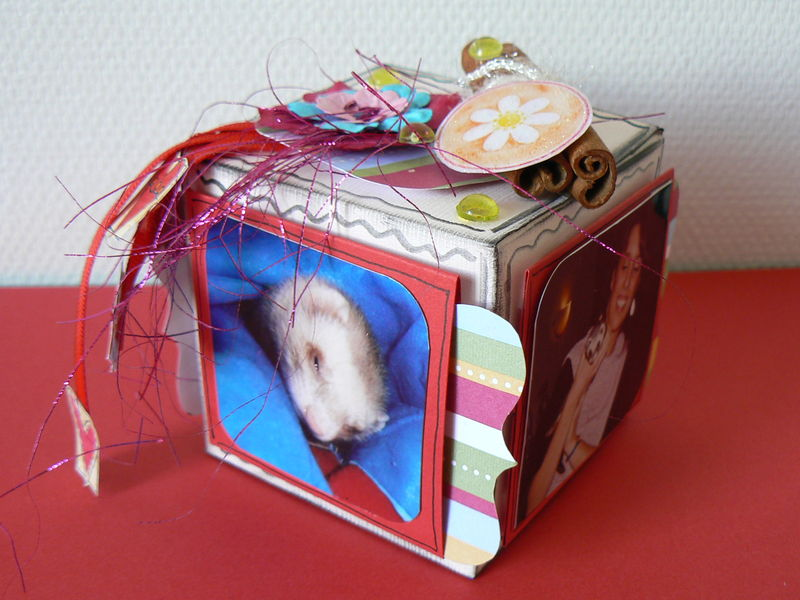 Boîte cube - 1