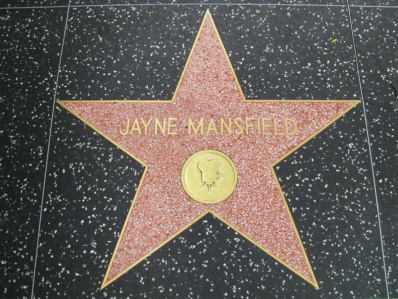 The_Jayne_Mansfield_Hollywood_Walk_Of_Fame_Star