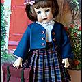 Bleuette va à l'école