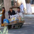 Près du grand bazar de Samarcande