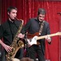 Gérôme Dufour (sax) et Gérôme Dusfour (guitare)
