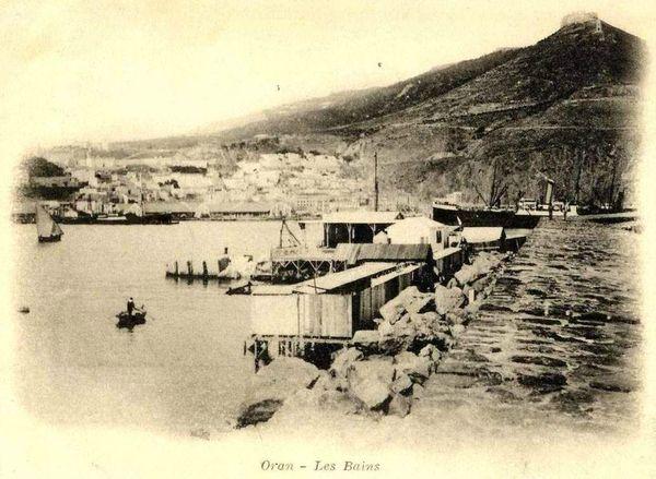Oran- 159- travail sur les quais