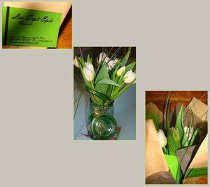 Montage tulipes