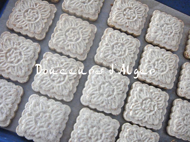 gâteaux amandes et sésame 1