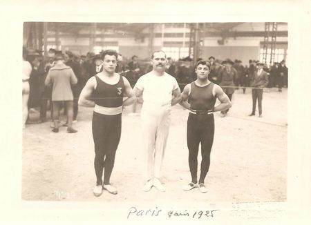 Alfred KRAUSS Champion France junior Paris 1925 R