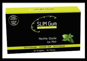 time nutrition slim gum menthe