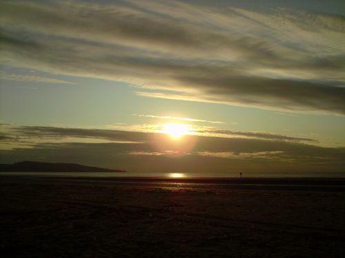 Sunrise over the Irish Sea