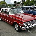 Mercury comet 4door sedan-1963