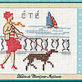 Échange ATC ÉTÉ Juillet 2020 Marie de Clessé pour Isaphanie 1