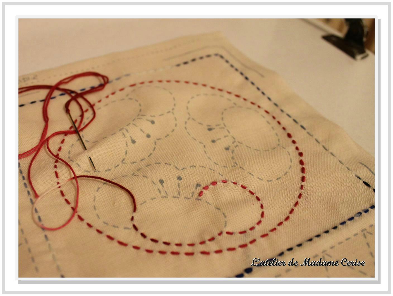 Atelier Sashiko Broderie Traditionnelle Japonaise Latelier De
