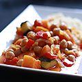 - tajine de pois chiches ou couscous végétarien -