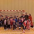 Tournoi Ecole de Hand le 19 janvier 2013