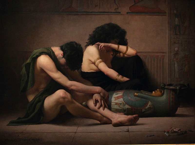 800px-Lamentations_over_the_Death_of_the_First-Born_of_Egypt_by_Charles_Sprague_Pearce[1]