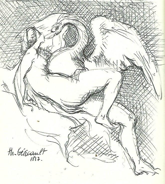 Léda d'après Géricault