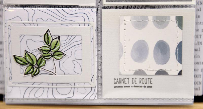 mini album-Toi- vue de face-pochon et mini-détail #7 - collection So Chou Sur la route-chouflowers-claire scrapat home