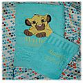 Serviette de toilette LION - copie 2