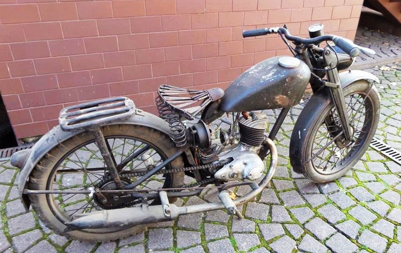 DKW 125 RT 1939-1945