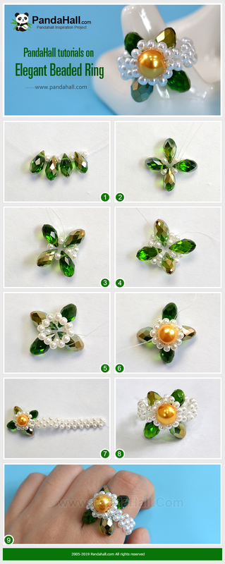 1-PandaHall-tutorials-on-Elegant-Beaded-Ring