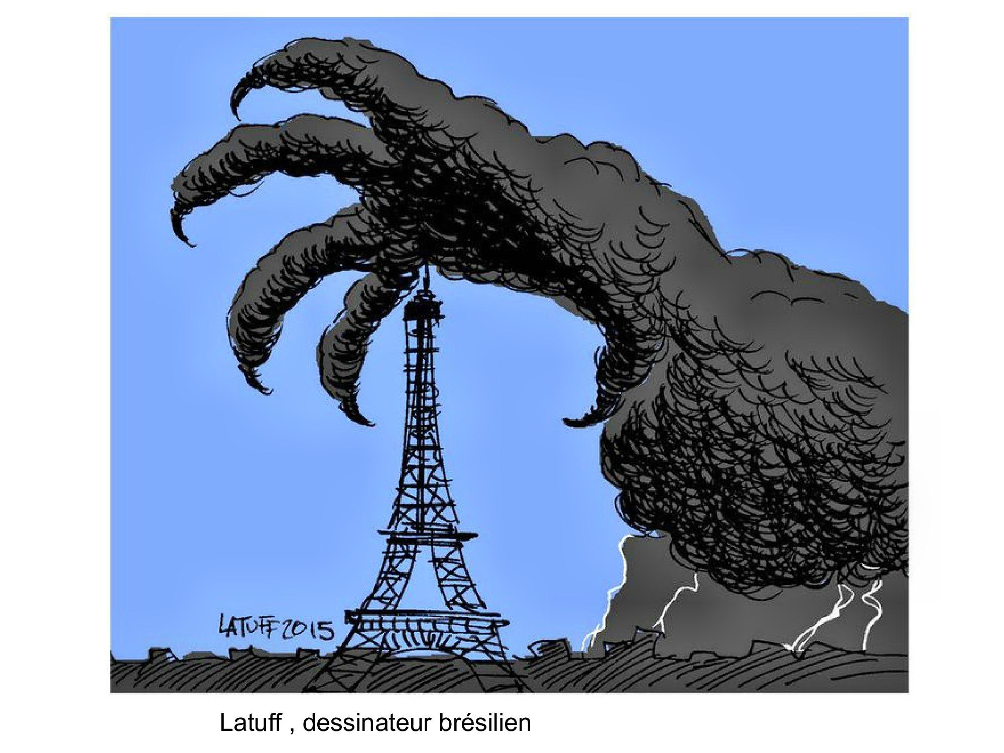 HOMMAGE des dessinateurs aux victimes des attentats de Paris 13 novembre 2015 (26)